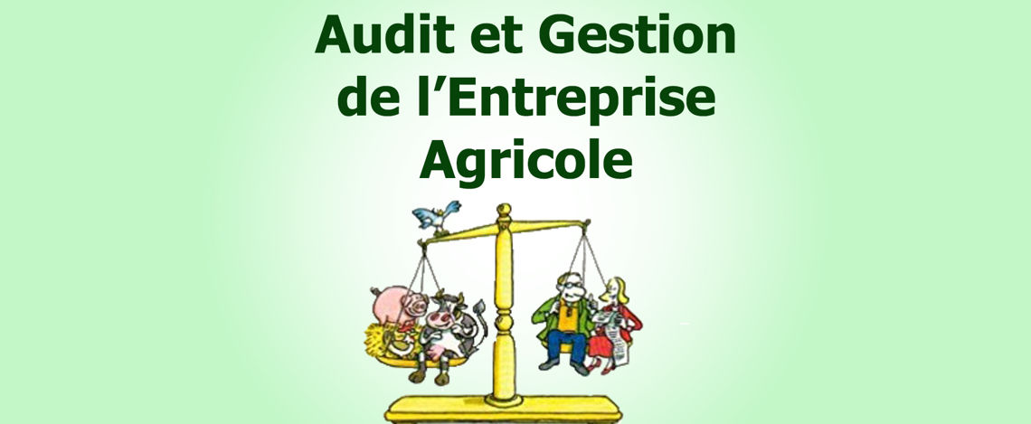 AUDIT DE PLANTATION OU DE FERME
